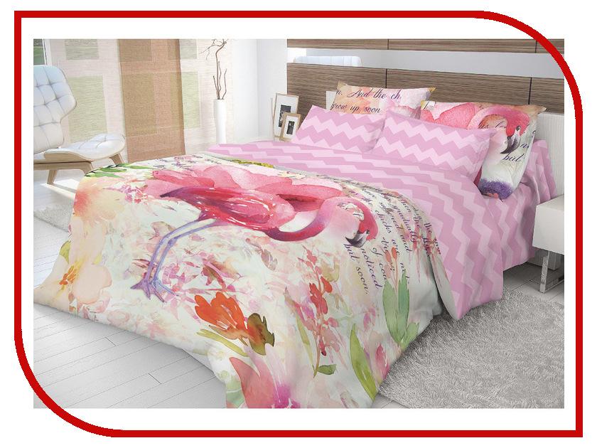 Постельное белье Волшебная Ночь Этно Flamingo Комплект 1.5 спальный Ранфорс 704299 постельное белье эго комплект 1 5 спальный полисатин