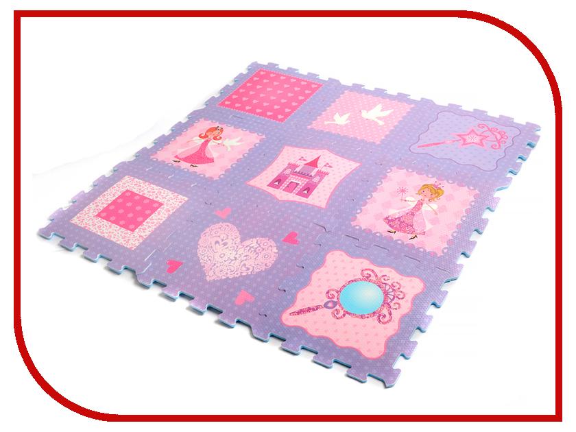 Развивающий коврик Elefantino Принцесса IT102785 развивающий коврик моя принцесса 5 в 1 цвет розовый
