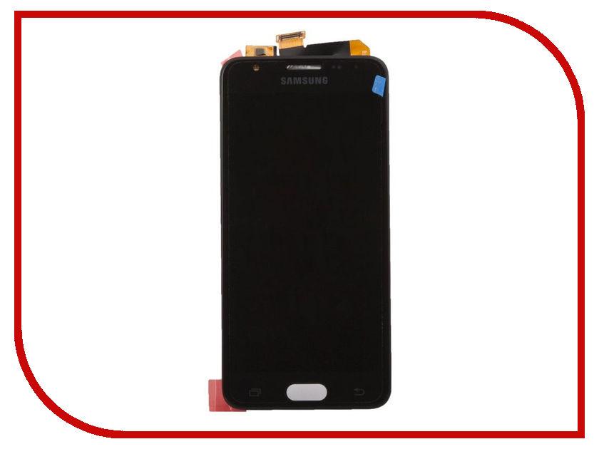 Дисплей Samsung G570F Galaxy J5 Prime + тачскрин Black (оригинал) защитное стекло для samsung galaxy j5 prime sm g570f caseguru на весь экран с белой рамкой