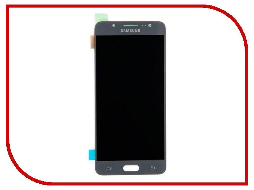 Дисплей Samsung J510F/DS Galaxy J5 (2016) + тачскрин Black (оригинал)