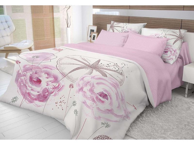 Постельное белье Волшебная Ночь Этно Shell Комплект 1.5 спальный Ранфорс 704074