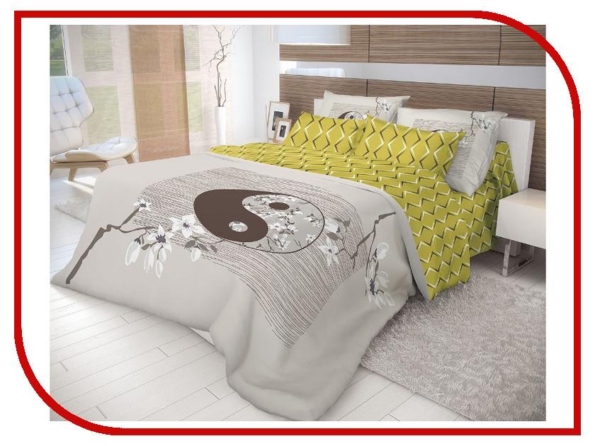 Постельное белье Волшебная Ночь Этно Yin Yang Комплект 1.5 спальный Ранфорс 702268 полка xin yang fashion home