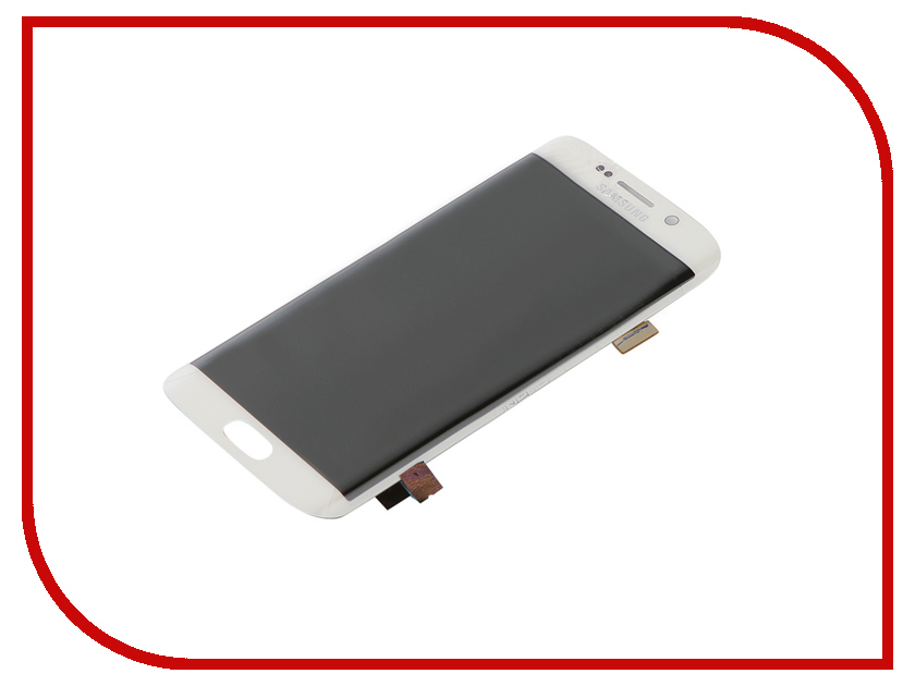 Дисплей ZipSamsung G925 Galaxy S6 Edge + тачскрин White аксессуар защитное стекло samsung g925f galaxy s6 edge caseguru 3d 0 33mm white