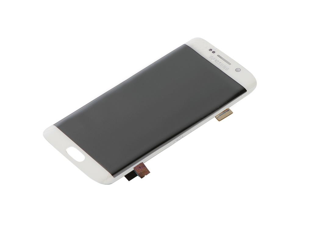 Дисплей RocknParts ZipSamsung G925 Galaxy S6 Edge + тачскрин White