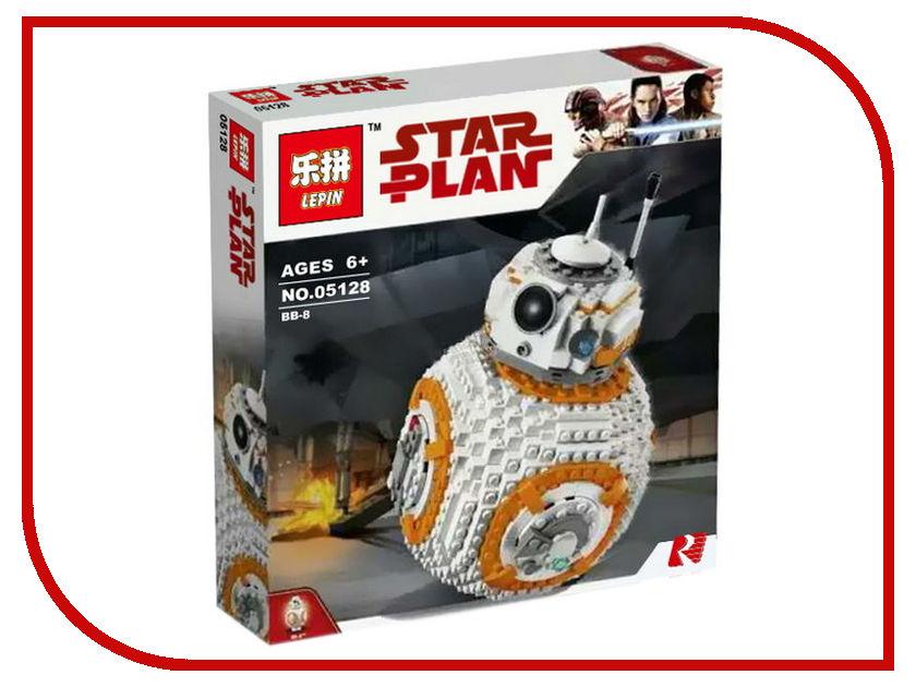 Конструктор Lepin Star Plan BB-8 1238 дет. 05128 конструктор lepin star plan стрела 800 дет 05113
