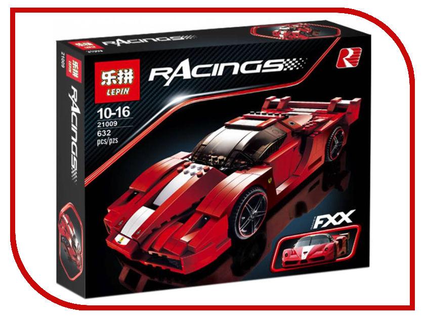Конструктор Lepin Racings Феррари FXX 632 дет. 21009 конструктор lepin fairytale сказочный замок спящей красавицы 360 дет 25012