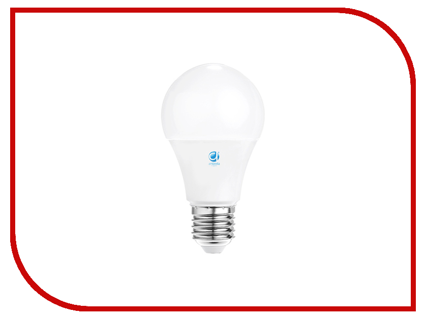 Лампочка Ambrella 170W LED A60-PR 20W E27 3000K 201727 лампочка asd led a60 standard 20w 4000k 160 260v e27 4690612004204