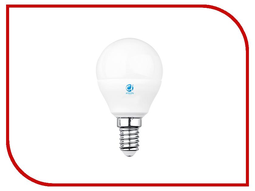 Лампочка Ambrella 60W LED B45-PR 6W E14 4200K 204014