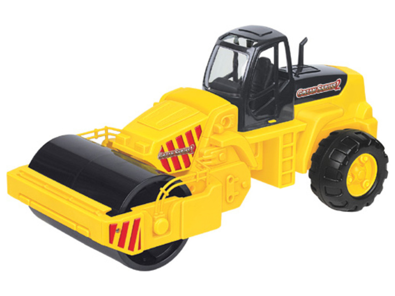 Игрушка Полесье Дорожный каток 8909 машина игрушечная с аксессуарами полесье volvo дорожный каток