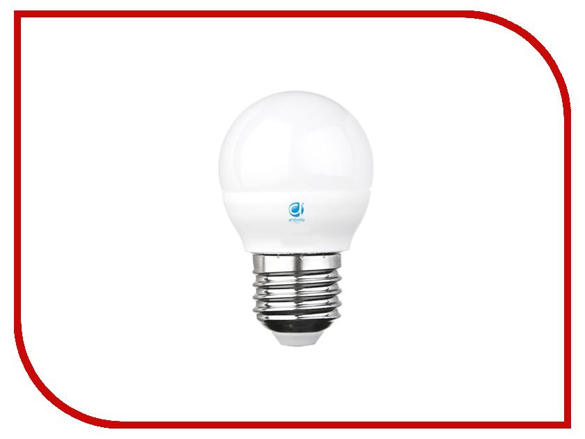 Лампочка Ambrella 75W LED B45-PR 8W E27 3000K 204183 лампочка ecowatt шарик нитевидный loft g125 e27 75w 2000k warm white