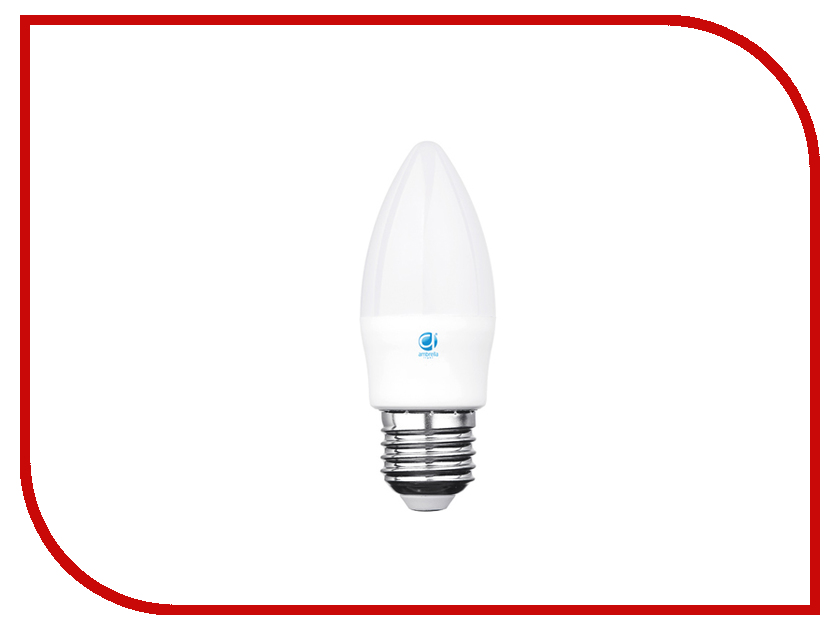 Лампочка Ambrella 60W LED C37-PR 6W E27 3000K 206127