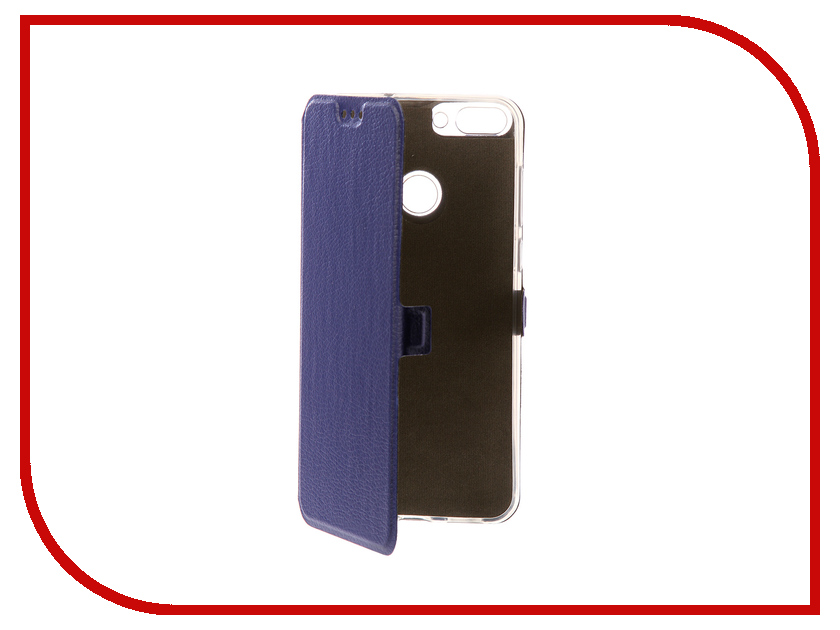 Аксессуар Чехол для Huawei Honor P Smart Zibelino Sottile Silicon Dark Blue ZSS-HUA-P-SMT-DBLU