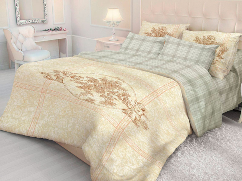 Постельное белье Волшебная ночь Версаль Crown Комплект 2 спальный Ранфорс 704279