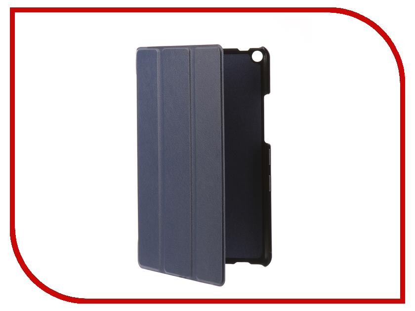 Аксессуар Чехол для Huawei MediaPad T3 KOB-L09 8.0 Partson Blue T-093 аксессуар чехол partson для apple ipad 2018 9 7 black t 096