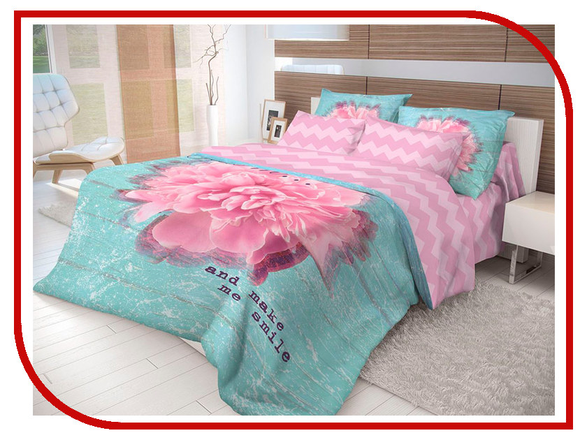 Постельное белье Волшебная ночь Лофт Bloom Комплект 2 спальный Ранфорс 704288