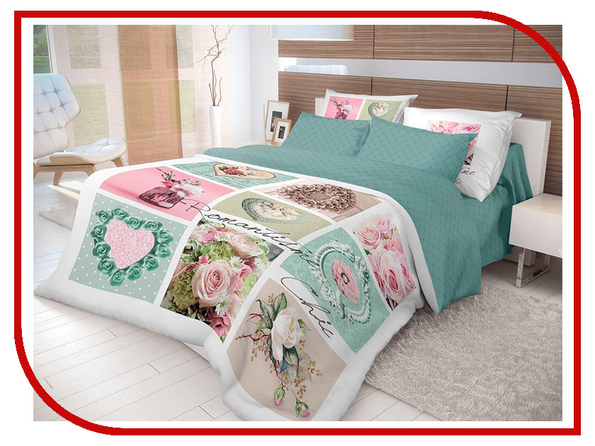 Постельное белье Волшебная ночь Лофт Frame Комплект 2 спальный Ранфорс 710581