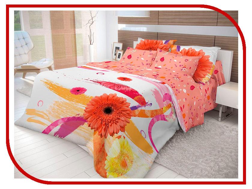 Постельное белье Волшебная ночь Лофт Gerbera Комплект 2 спальный Ранфорс 702204