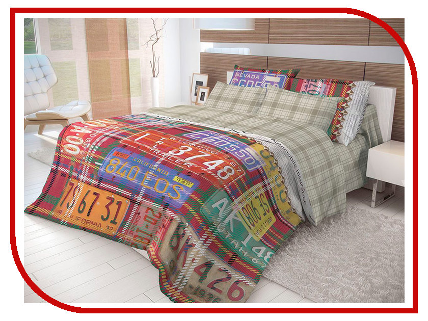 Постельное белье Волшебная ночь Лофт Nevada Комплект 2 спальный Ранфорс 702161