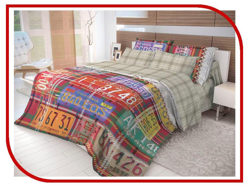 Постельное белье Волшебная ночь Лофт Nevada Комплект 2 спальный Ранфорс 702162