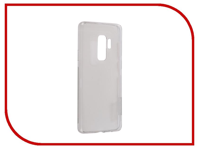 Аксессуар Чехол для Samsung Galaxy S9 Plus Nature Nillkin TPU Grey N-TPU SAM-GALAXY S9+ аксессуар чехол samsung galaxy j3 2017 cojess tpu 0 3mm transparent