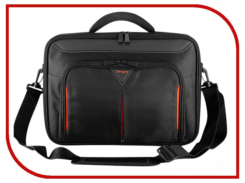 Аксессуар Сумка 18 Targus Classi+ CN418EU-50 Black-Red сумка для ноутбука targus classic clamshell cn418eu 70 black полистер до 18