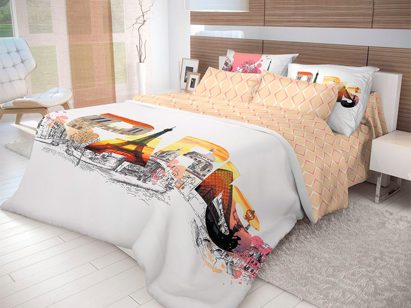 Постельное белье Волшебная ночь Лофт Splash Комплект 2 спальный Ранфорс 702197