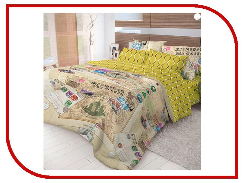 Постельное белье Волшебная ночь Лофт Travel Комплект 2 спальный Ранфорс 716290