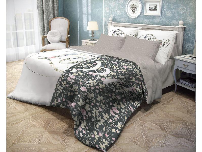 Постельное белье Волшебная ночь Прованс Amour Комплект 2 спальный Ранфорс 706792