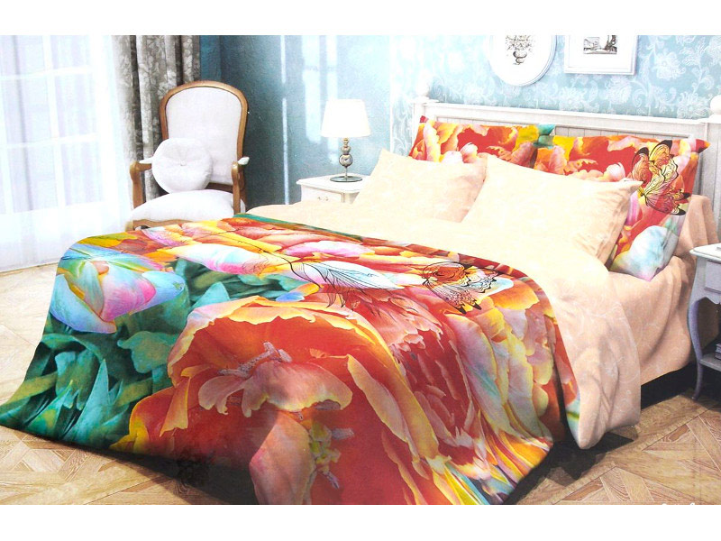 Постельное белье Волшебная ночь Прованс Butterfly Комплект 2 спальный Ранфорс 702130