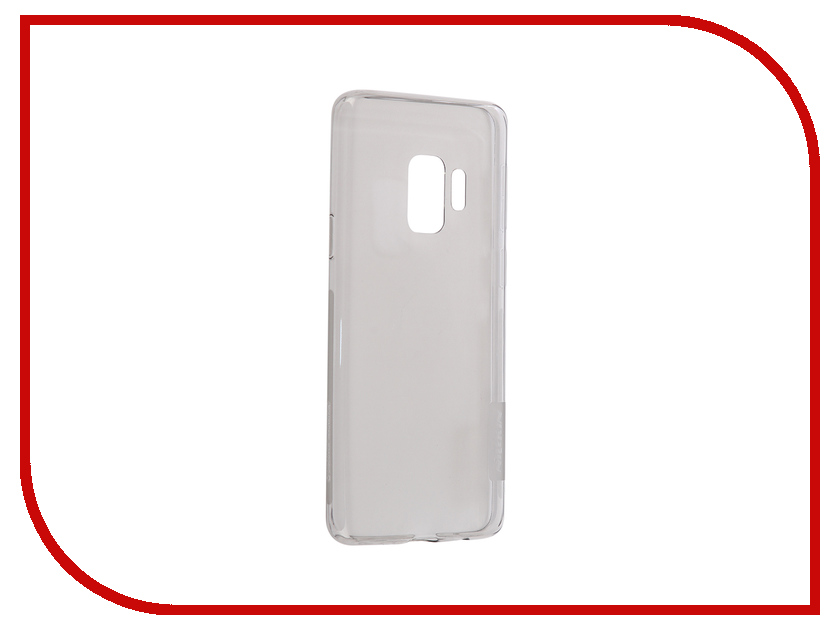 Аксессуар Чехол для Samsung Galaxy S9 Nillkin Nature TPU Grey N-TPU SAM-GALAXY S9 аксессуар чехол samsung galaxy j3 2017 cojess tpu 0 3mm transparent