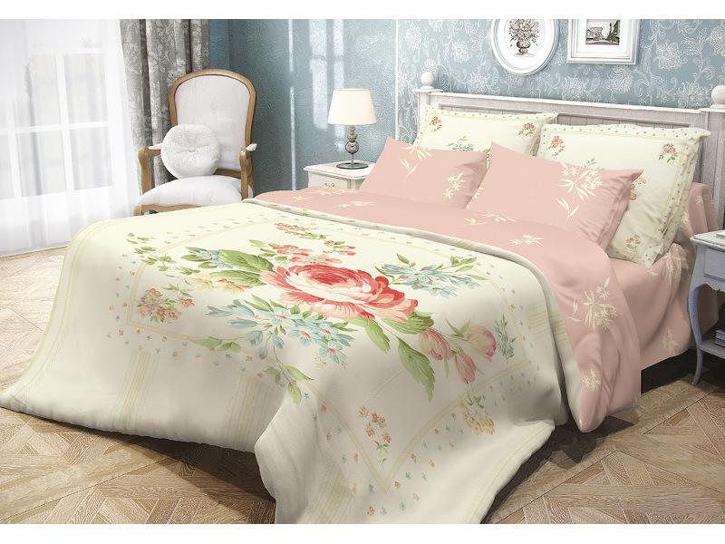 Постельное белье Волшебная ночь Прованс Field Комплект 2 спальный Ранфорс 704251