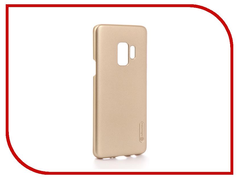 Аксессуар Чехол Samsung Galaxy S9 Nillkin Super Frosted Shield Gold F-HC SAM-GALAXY S9