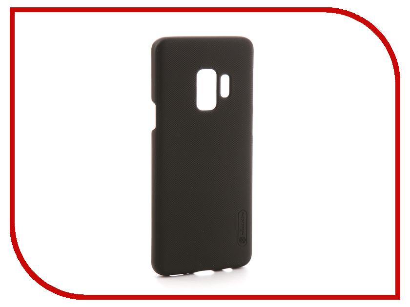 Аксессуар Чехол для Samsung Galaxy S9 Nillkin Super Frosted Shield Black F-HC SAM-GALAXY S9 женское платье sam s tree 2517014 2015