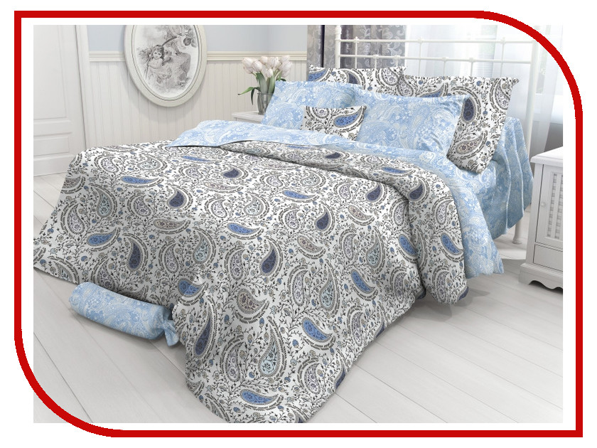 Постельное белье Verossa Constante Orient Paisley Комплект Семейный Перкаль 717596 постельное белье ласточкино гнездо перкаль семейный