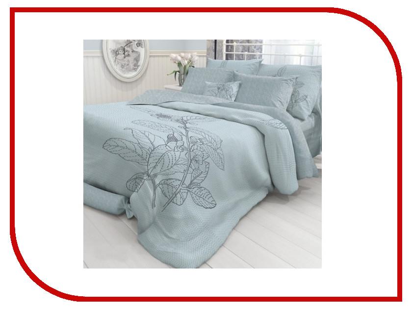 Постельное белье Verossa Constante Indigo Grain Комплект Семейный Перкаль 717551 постельное белье ласточкино гнездо перкаль семейный
