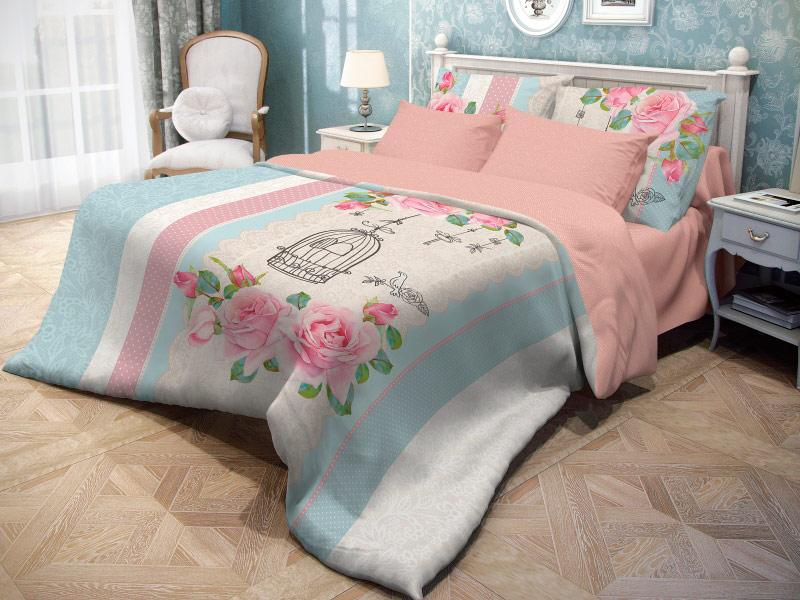 Постельное белье Волшебная ночь Прованс Fluid Комплект 2 спальный Ранфорс 716250