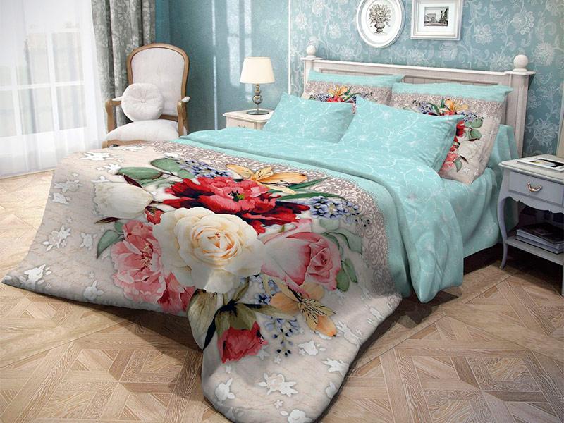 Постельное белье Волшебная ночь Прованс Weave Комплект 2 спальный Ранфорс 704037