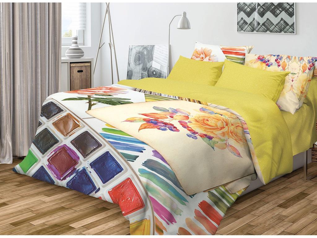 Постельное белье Волшебная ночь Фьюжн Paint Комплект 2 спальный Ранфорс 706782