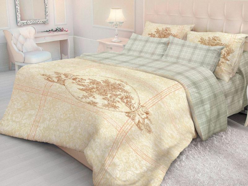 Постельное белье Волшебная ночь Версаль Crown Комплект Евро Ранфорс 704281