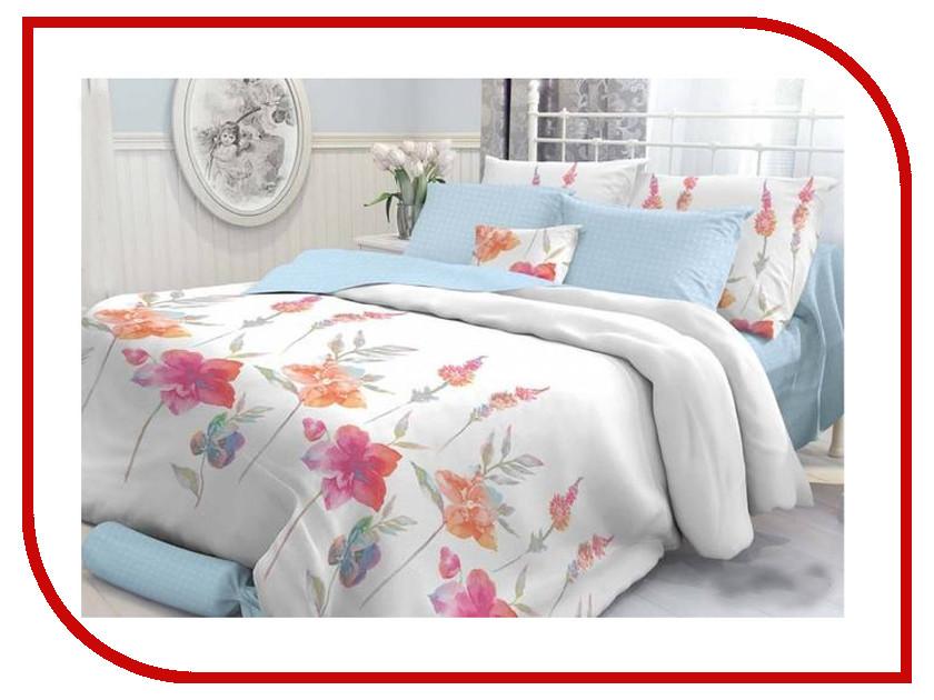 Постельное белье Verossa Constante Color Flowers Комплект Семейный Перкаль 707894 постельное белье ласточкино гнездо перкаль семейный
