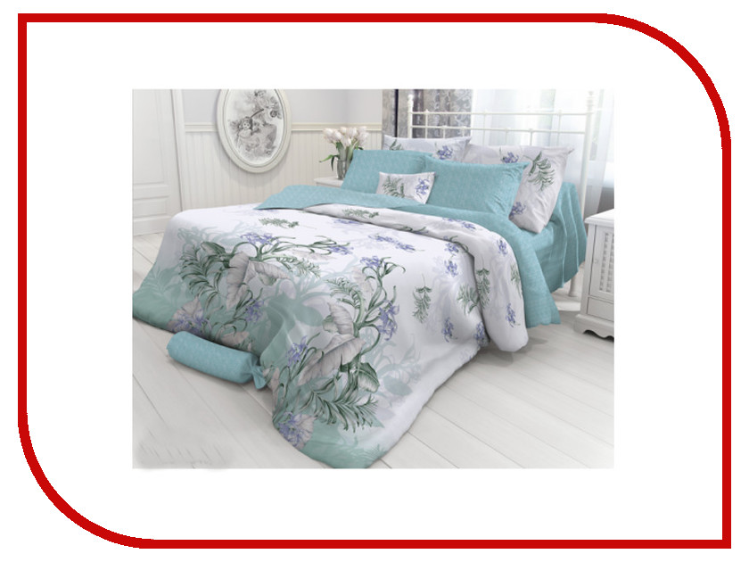Постельное белье Verossa Constante Branch Комплект Семейный Перкаль 718702 постельное белье ласточкино гнездо перкаль семейный