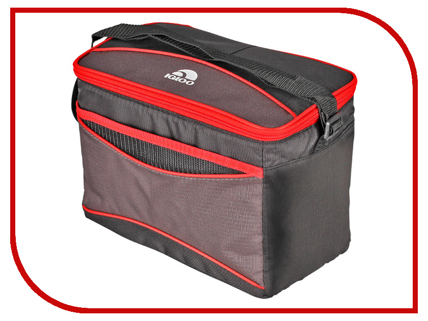 Термосумка Igloo Collapse&Cool 12 9L Black-Red 162721
