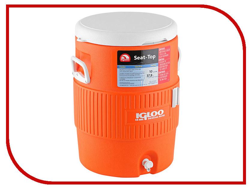 Термоконтейнер Igloo 10 Gal Orange 37 5L 42021 сигнализатор клева
