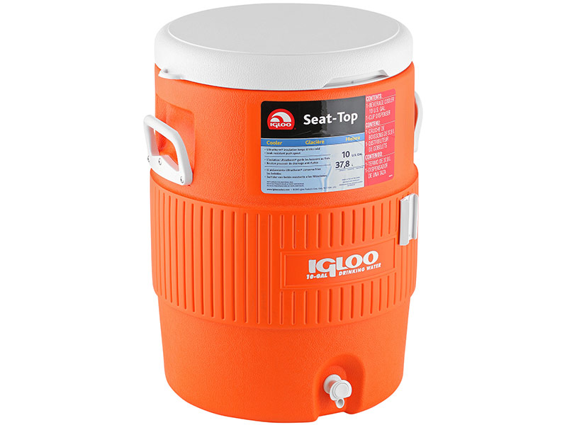 Термоконтейнер Igloo 10 Gal Orange 37 5L 42021