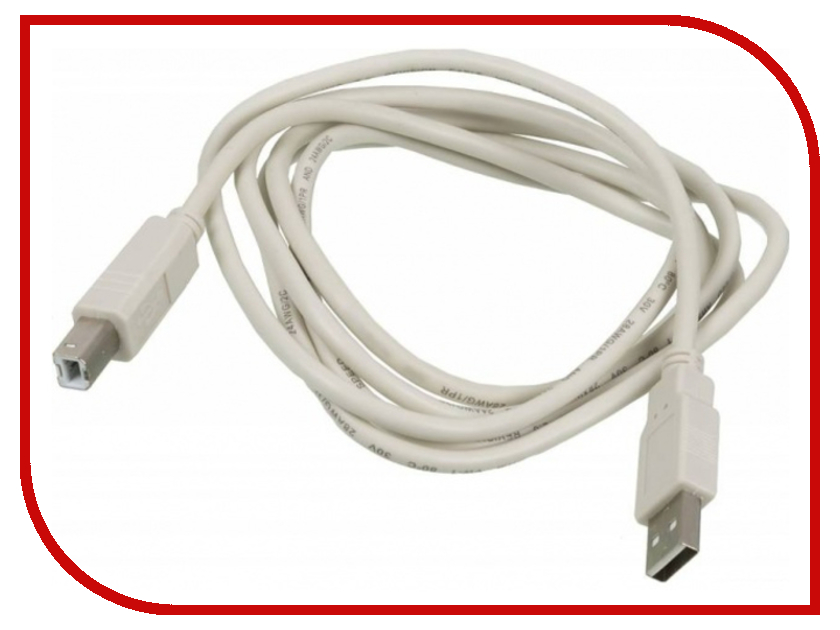 Аксессуар Ningbo USB - USB 1.8m USB2.0-AM-BM-BR 841895 все цены