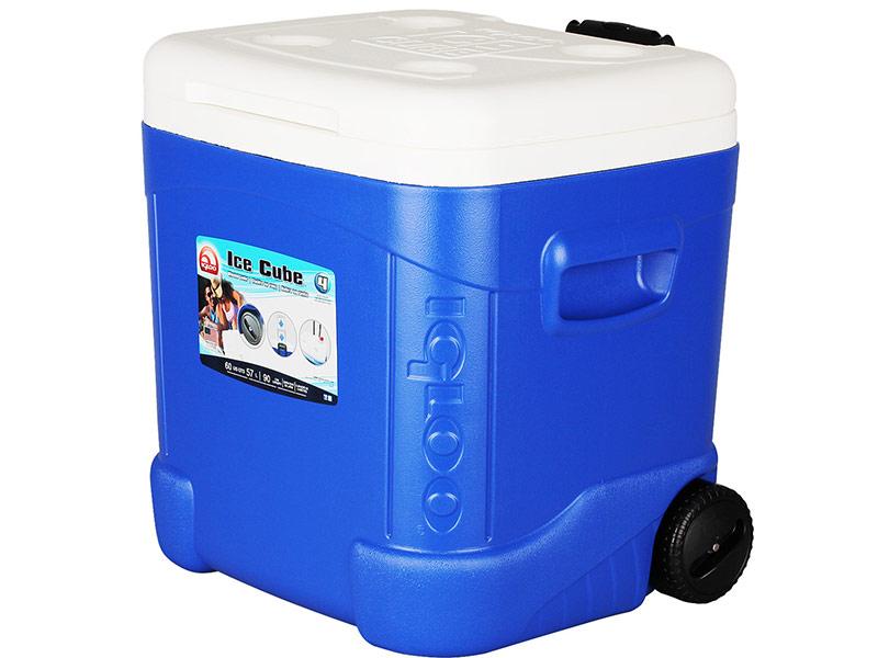 Термоконтейнер Igloo Ice Cube 60 Roller Blue 45097 /34239