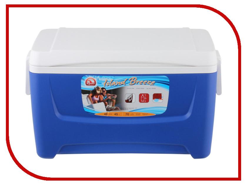 Термоконтейнер Igloo Island Breeze 48 45L Blue 44714 термоконтейнер igloo island breeze 28 44547