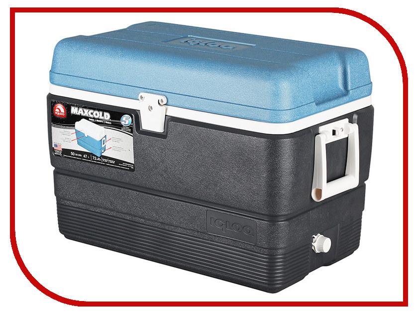 Термоконтейнер Igloo MaxCold 50 Dark Blue 49492 термоконтейнер igloo island breeze 28 44547