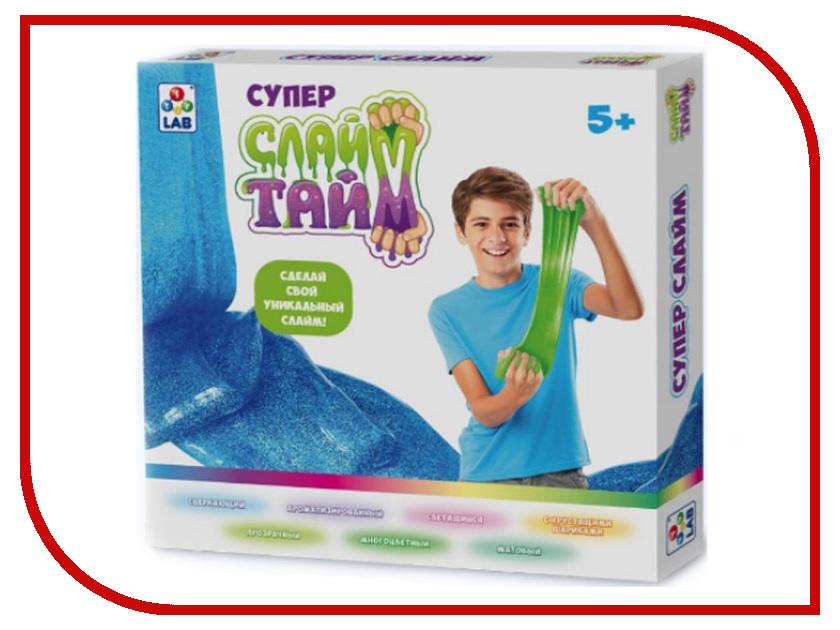 Набор 1Toy Слайм Тайм Большой набор Сделай слайм в большой коробке Т12032