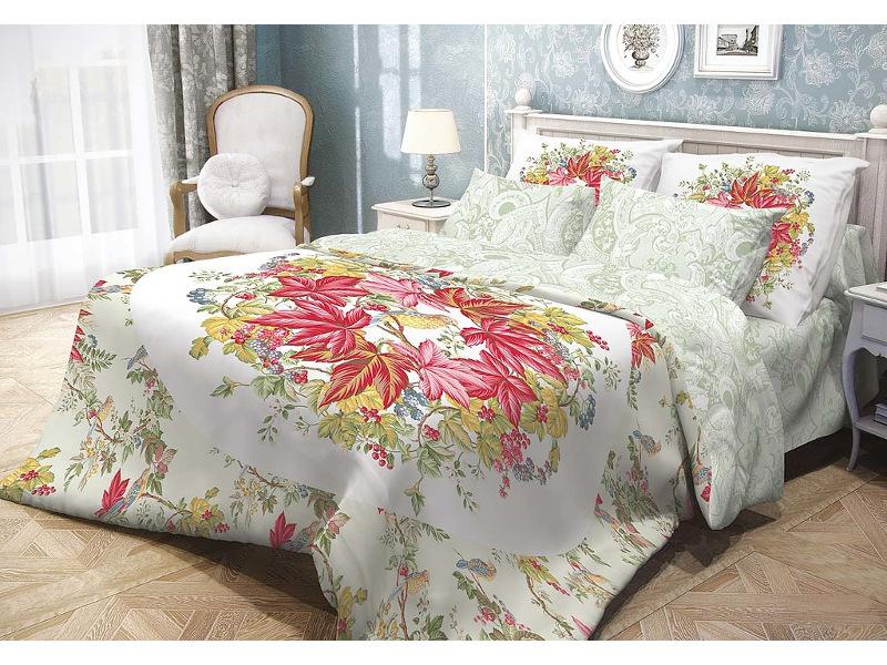 Постельное белье Волшебная ночь Прованс Bird Garden Комплект семейный Ранфорс 704045